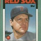 1986 Topps Traded Tom Seaver Boston Red Sox