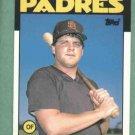 1986 Topps Traded John Kruk San Diego Padres Rookie #56T