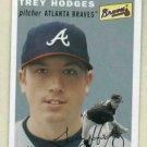 2003 Topps Heritage Trey Hodges Atlanta Braves Rookie