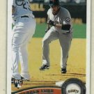 2011 Topps Target Retro Logo Daren Ford San Francisco Giants Rookie