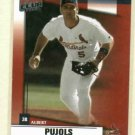 2002 Donruss Fan Club Albert Pujols St Louis Cardinals # 40