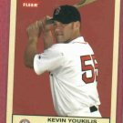 2005 Fleer Tradition Kevin Youkilis Boston Red Sox # 228