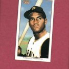 2002 Topps 206 Mini Polar Bear Roberto Clemente Pittsburgh Pirates # 438