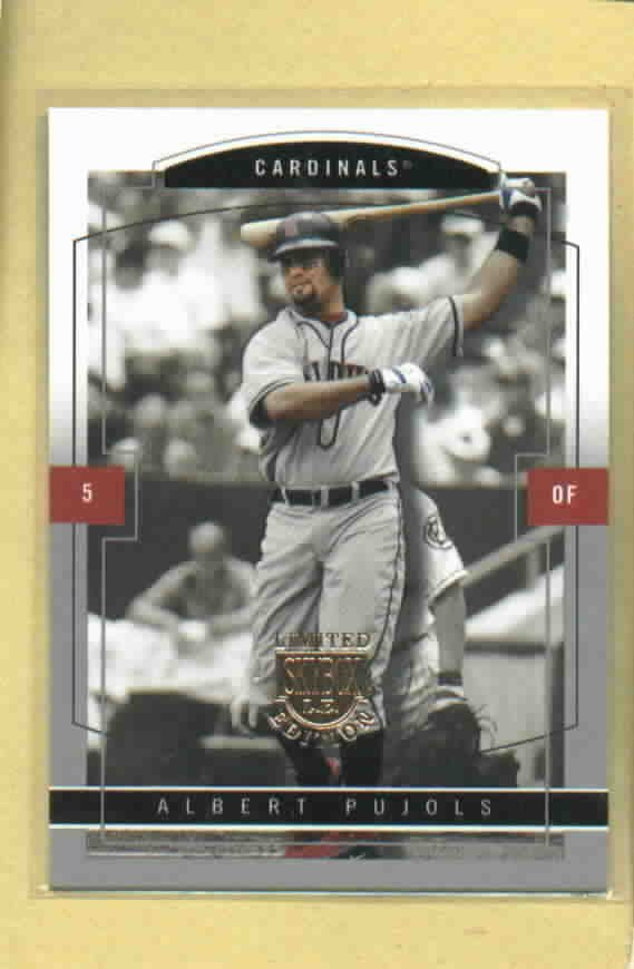 2004 Skybox Limited Edition Albert Pujols St Louis Cardinals # 15