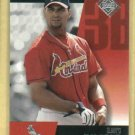 2002 Upper Deck Diamond Connection Albert Pujols St Louis Cardinals # 52