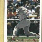 2002 Fleer Triple Crown Albert Pujols St Louis Cardinals # 186