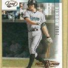 2003 Leaf Press Proof Josh Wilson ROOKIE Florida Marlins # 292