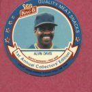 1988 King B Disc Alvin Davis Seattle Mariners Oddball # 17