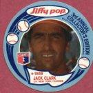 1988 Jiffy Pop Disc Jack Clark New York Yankees Oddball # 4