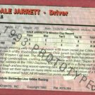 1993 Action Packed Dale Jarret Prototype Nascar Card RARE #DJ1