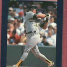 1992 Classic Games Jose Canseco Baseball Card Oakland A's Oddball