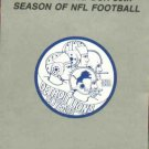 1983 Detroit Lions Pocket Schedule