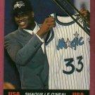 1992 Ballstreet Shaquille O'Neal Rookie USA Orlando Magic Oddball