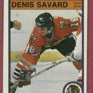 1982 83 O Pee Chee Denis Savard Chicago Black Hawks # 73
