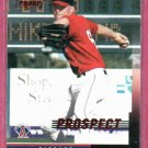 2004 Leaf Press Proof Prospect Rich Fischer Anaheim Angels # 227