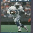 1990 Pro Set Gold Barry Sanders Detroit Lions # 1