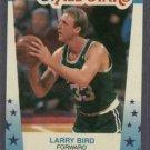 1989 90 Fleer All Star Stickers Larry Bird Boston Celtics # 10