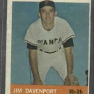 1964 Topps Jim Davenport San Francisco Giants # 82