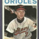 1964 Topps Jerry Adair Baltimore Orioles # 22