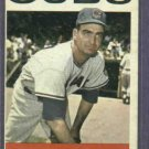 1964 Topps Bob Buhl Chicago Cubs # 96