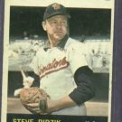 1964 Topps Steve Ridzik Washington Senators # 92