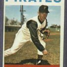 1964 Topps Tommy Sisk Pittsburgh Pirates # 224