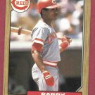 1987 Topps Barry Larkin Cincinnati Reds Rookie # 648