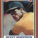 1991 Post Cereal Rickey Henderson Oakland A's Oddball # 27