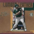 2005 Donruss Leather & Lumber Rickey Henderson Oakland A's # LL-25 #D / 2500