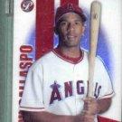 2004 Topps Pristine Alberto Callaspo Uncirculated Refractor Angels Rookie #d / 999 # 116