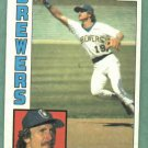 1984 Topps Robin Yount Milwaukee Brewers # 10
