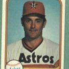 1981 Fleer Nolan Ryan Houston Astros # 57