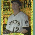 2012 Topps Gold SP Chase D' Arnaud Pittsburgh Pirates # 102 ERROR  No Second Base