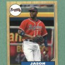 2012 Topps Jason Heyward 1987 Mini Atlanta Braves # TM-9