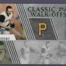 2012 Topps Classic Walk Offs Bill Mazeroski Pittsburgh Pirates # CW-1
