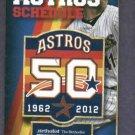 2012 Houston Astros Pocket Schedule