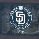 2012 San Diego Padres Pocket Schedule Miller Lite