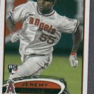2012 Topps Jeremy Moore Angels Rookie Card # 277