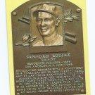 Baseball Hall Of Fame Postcard Sandy Kofax Brooklyn Los Angeles Dodgers