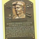 Baseball Hall Of Fame Postcard Roberto Clemente Pittsburgh Pirates