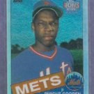 2002 Topps Archives Reserve Dwight Gooden 1985 Reprint New York Mets # 87 Refractor