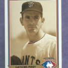 1991 Upper Deck Heroes Of Baseball Gaylord Perry Giants # H2