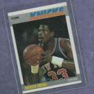 1987 88 Fleer Patrick Ewing New York Nicks # 37 BEAUTIFUL CARD PSA ?
