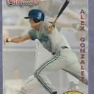 1994 Ted Williams Card Co Alex Gonzalez Toronto Blue Jays ROOKIE # 121
