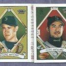 2003 Topps 205 Triple Folder Ichiro Brett Boone # TF48 Seattle Mariners Yankees