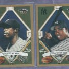 Pair 2003 Topps 205 Alfonso Soriano Regular & SP New York Yankees # 20