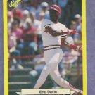 1997 Classic Update Eric Davis Cincinnati Reds Yellow # 102