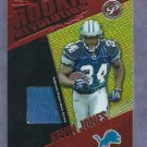 2004 Topps Pristine Rookie Reveloution Kevin Jones Detroit Lions # RR-KJ Jersey Card