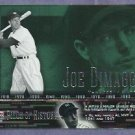 2002 Upper Deck Piece Of History Joe Dimaggio New York Yankees # 39