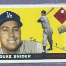2003 Topps All Time Fan Favorites Duke Snider Los Angeles Dodgers # 140